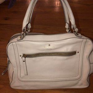 Authentic Kate Spade Off White Satchel Purse
